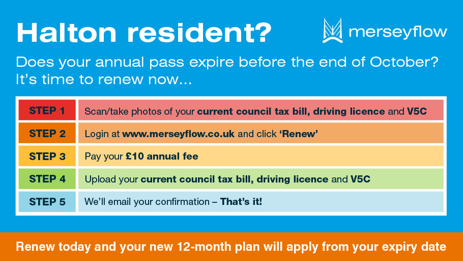 Merseyflow - Merseyflow - the official toll operator for the Mersey